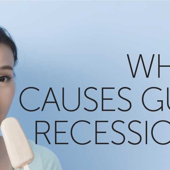 What causes gum recession?